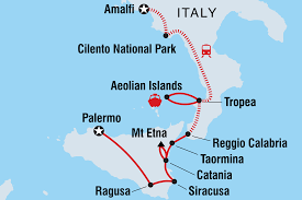 Map Of Calabria Italy by Highlights Of Calabria U0026 Sicily Italy Tours Intrepid Travel