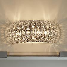 Arc Crystal Bath Light Lamp Shades By Shades Of Light Fabric - Bathroom vanity light with fabric shades