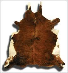 tappeti pelle di mucca tappeto in pelle di mucca naturale marrone scuro e bianco
