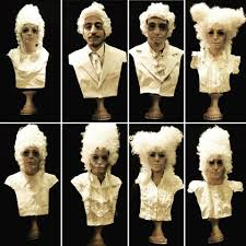 Halloween Statue Costume Composer Bust Statue Costumes 7 Steps Pictures