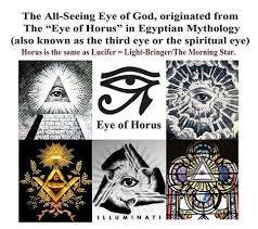 all seeing eye horus lucifer kimber
