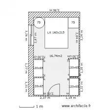 plan dressing chambre chambre dressing 2 plan 1 pièce 17 m2 dessiné par nicof