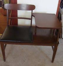 Antique Telephone Bench Telephone Chair Ebay