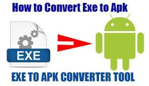 apk converter using converter software to convert exe file to apk android file