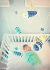 Fish Nursery Decor Aquarium Baby Mobile For Nautical Nursery Decor Baby Boy Fish