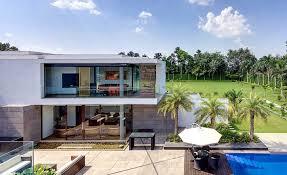 villa ideas two story tropical villa interior design ideas