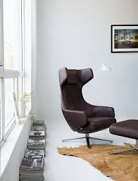 Lounge Ottoman Grand Repos Lounge Chair And Ottoman Design Within Reach
