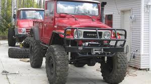 jeep diesel conversion bring a trailer diesel toyota land cruiser fj45 on unimog axles