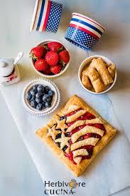 American Flag Awesome Herbivore Cucina American Flag Fruit Pie