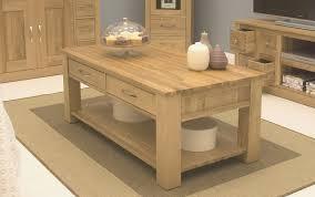 Oak Livingroom Furniture Contemporary Oak Coffee Tables Coffee Tables Decoration