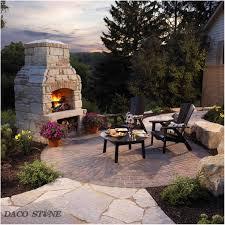 backyards outstanding giant built in field stone backyard
