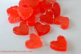 heart candies diy heart shaped candies