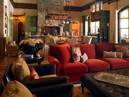 Tuscan Style Homes Interior by Tuscan Decorating Ideas For Living Rooms White Red Curtain Glass