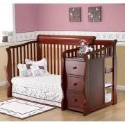 Convertable Crib Sorelle Tuscany 4 In 1 Convertible Crib And Changer Espresso