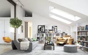 home interior picture attic living room home interior scandinavian design ideas