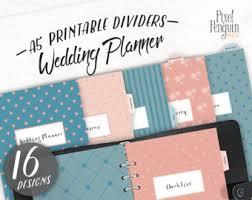 wedding organizer binder wedding planner binder etsy