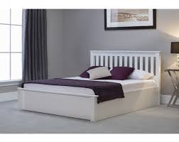 White Ottoman Bed Emporia Freya 4ft6 White Wooden Ottoman Bed By Emporia Beds