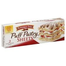 pepperidge farm puff pastry sheets shop breakfast pastries at heb
