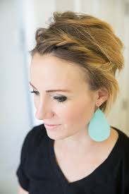 pixie hair do in twist easy front twist tutorial for short hair or a long pixie one