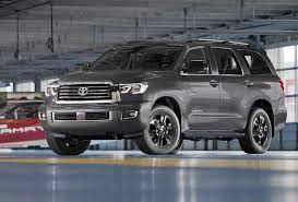 toyota suv sequoia 2018 toyota sequoia gets a facelift a trd sport model and