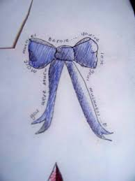 blue bow tattoo design by misfitskid13 on deviantart