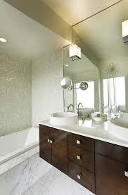 Bathroom Vanity Two Sinks Marvelous Mirror Backsplash Tiles Interior Designs With Marble