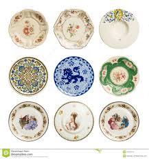 set of vintage plates stock photos image 31031013