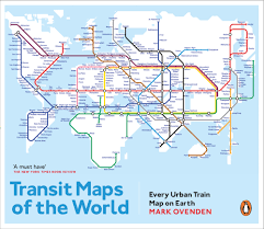 Maps Of Transit Maps Of The World Every Urban Train Map On Earth By Mark