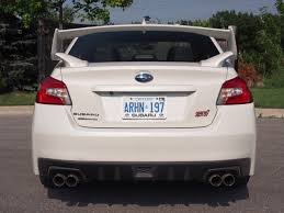 subaru sedan white review 2015 subaru wrx sti canadian auto review