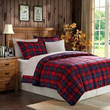 Plaid Bed Set Mainstays Umbridge 7 Bedding Comforter Set Walmart