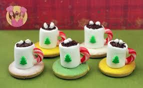 Christmas Treats Christmas Cocoa Treats Make Mini Chocolate Cookie Treats
