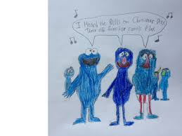 cookie grover and herry singing i heard the bells by