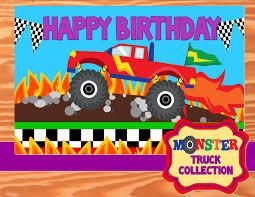 monster trucks races cartoon cars monster truck party monster truck backdrop monster jam truck