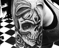 girly skull tattoos images hair and trends 2018 sample