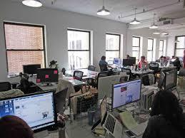 built soho office loft with garden views new york ny