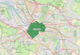 Bremen Germany Map by Environmental Zone Bremen Environmental Badge Germany