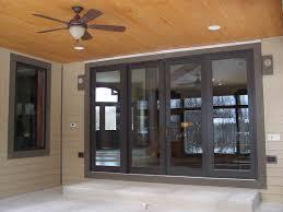 Custom Patio Door Wood Bi Parting Sliding Patio Doors With Matching Transoms Custom