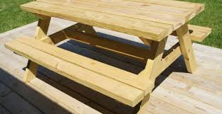 Folding Wood Picnic Table Plans by Table Picnic Table To Bench Seat Amazing Picnic Table Designs