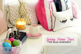 spring decorations for the home glam apartment tour spring u0026 easter home decor 2015 youtube