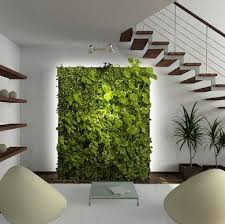 this pin inspired us to create a lush living wall as the focal