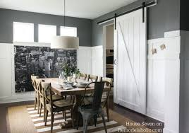 preferential interior sliding barn door with interior sliding barn