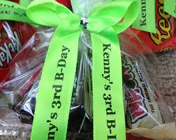 personalized ribbons for favors favor ribbons etsy