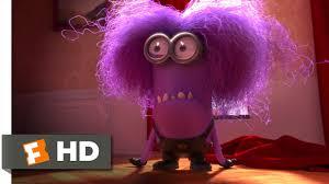 despicable me 2 9 10 movie clip the purple minion attacks