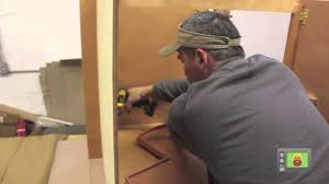 Kitchen Cabinet Assembly by How To Assemble A Lazy Susan Cabinet Kitchen Cabinet Kings Youtube