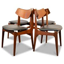 danish teak dining chairs from funder schmidt u0026 madsen 1960s set