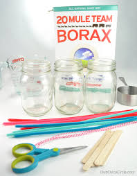 easy borax ornaments for club chica circle where