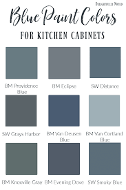 rustic blue gray kitchen cabinets blue cabinet paint colors our kitchen makeover painted