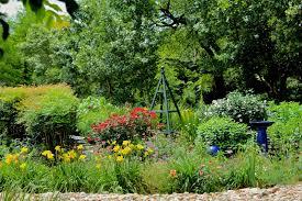 Gazing Balls Garden Delightful Garden Tour On A Challenging Slope U2026 Diana U0027s Designs