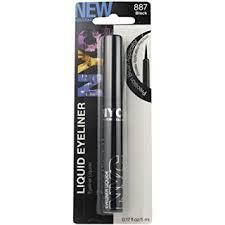 amazon com new york color liquid eyeliner extreme black 0 15 oz