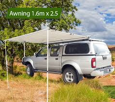 4x4 Awning 1 6 X 2 5m Awning Roof Top Tent Camper Trailer 4wd 4x4 Camping Car